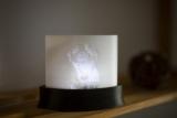 Individuelles Bild aus Kunststoff auf Leuchtpodest